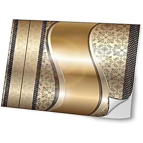 Opal 10005, Diseño Mejor Pegatina de Vinilo Protector con Efecto Cuero Extraíble Adhesivo Sticker Skin Decal Decorativa Tapa con Diseño Colorido para Portátil 15.6''.
