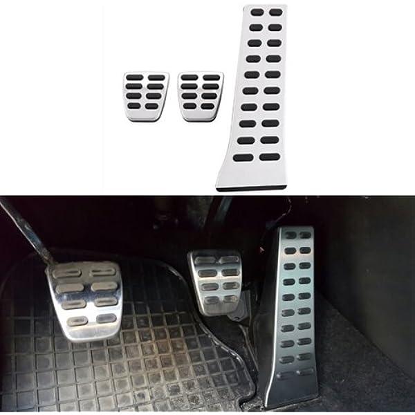 Edelstahl Fußstütze Pedal Abdeckplatte Auto