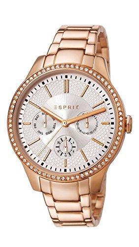 Esprit Damen-Armbanduhr Analog Quarz Edelstahl beschichtet ES107132005