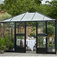 serre jardin verre. Black Bedroom Furniture Sets. Home Design Ideas