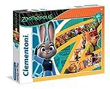Clementoni 26959 - Puzzle Zootropolis, 60 Pezzi