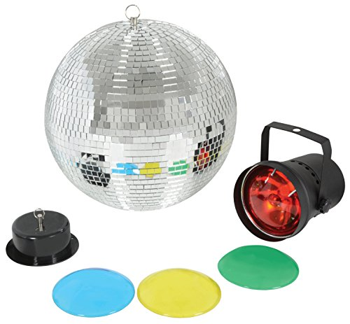 QTX LIGHT MIRROR BALL SET