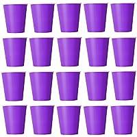 50x Vasos Lila vasos desechables