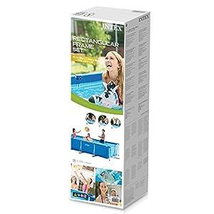 Intex 28273 Piscina Rettangolare, senza Pompa Filtro, 450 x 220 x 84 cm