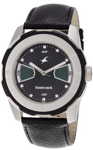 Fastrack Economy 2013 Analog Black Dial Men's Watch - 3099SL05 image
