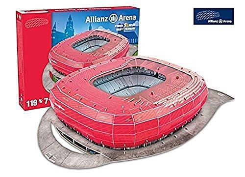 Giochi Preziosi Nanostad 3D Puzzle Allianz Arena, München