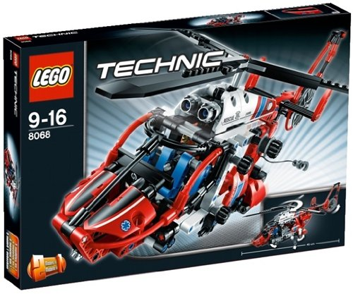 LEGO TECHNIC 8068 - HELICOPTERO DE RESCATE