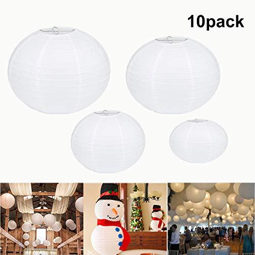 10 piezas 30cm Linternas de Papel