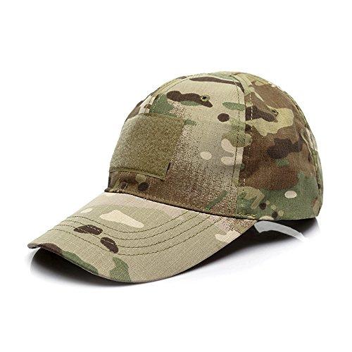 43d657d426bec GES Tactical Hat Military Style Hombres Army Combat Operators Gorra de  béisbol (CP Camuflaje)