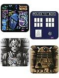 Doctor Who Coaster Set, Set of 4