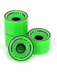 Ruedas MAXOfit para Longboard All Day verde 70 mm x 55 mm