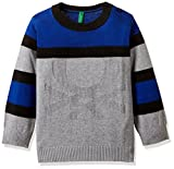 United Colors Of Benetton Boys' Sweater (17A12CDCZ508G_Grey Melange_EL)