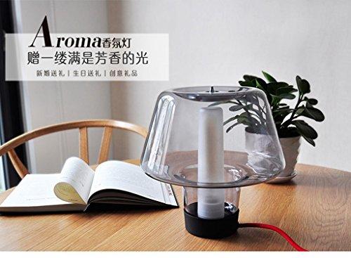 HRMAOI®,Personalisierte, modern und einfach, kreative Art und Weise, Wohnzimmer, Schlafzimmer, Nachttischlampe, warme Schreibtisch, Stecker Radio Lichter, Aromalampen,