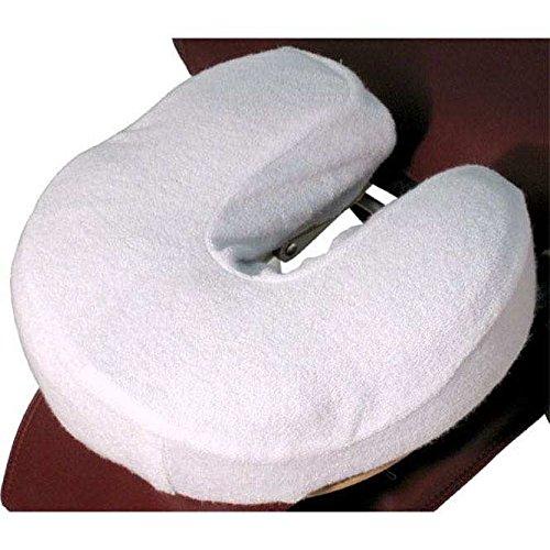 TAOline Flanell-Kopfstützbezüge, 4er-Set, weiß, 100{79988ec83d3ec89f6e040666083eeda9cc8b41bef211b3d6f49114c846902437} Baumwolle, in Hörnchenform für Kopfstützen von Therapieliegen oder Massageliege