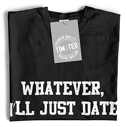 Wie auch immer, ich werde Datum Just My Fridge Lustige Slogan Coole Dating Langarmshirt Dark Grey