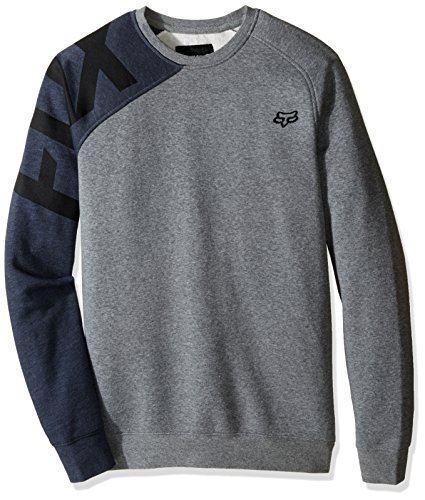 Fox Pullover Race Crew Grau Gr. XL Fleece-screen Print Pullover
