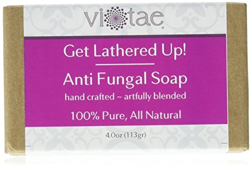 Certified Organic ANTIFUNGAL Soap - by Vi-Tae® - 100% Pure, All Natural, Aromatherapy Herbal Bar Soap - 4oz
