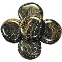 budawi® - Stromatolith Scheibensteine ca. Ø 40 mm Handschmeichler, Daumensteine preisvergleich bei billige-tabletten.eu