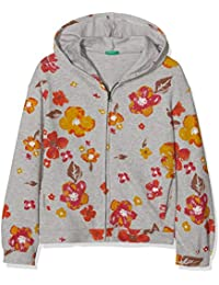 United Colors of Benetton Jacket W/Hood L/S, Giacca Bambina