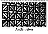 Andalusien Impressionen in schwarzweiß (Wandkalender 2020 DIN A2 quer): Andalusien lockt jedes Jahr, mit Alhambra, Mezquita, Ronda, ebenso wie mit der ... (Monatskalender, 14 Seiten ) (CALVENDO Orte) - Britta Knappmann