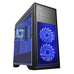 Fierce ULTRA VELOCE Quadcore AMD Gaming PC Computer - 4,0GHz AMD A-Series A10-7860K - Ufficio, Casa, Giochi di Famiglia PC - (WIFI, 16GB RAM, 1TB Hard Drive, Grafica R7-Series) - 217767