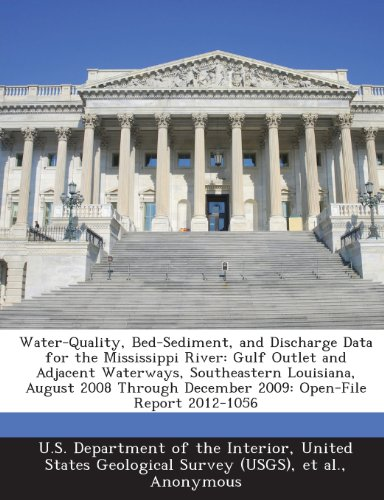 Water-Quality, Bed-Sediment, and Discharge Data for the Mississippi River: Gulf Outlet and Adjacent Waterways, Southeastern Louisiana, August 2008 Thr