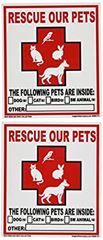 Imagine This Pet Rescue Decal Sticker