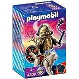 Playmobil 626134 - Guerrero Lobo Con Mazo