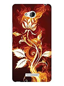 TREECASE Designer Printed Hard Back Case Cover For HTC Desire 616