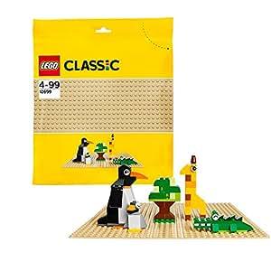 LEGO - 10699 - Classic - Jeu de Construction - La Plaque de Base Sable