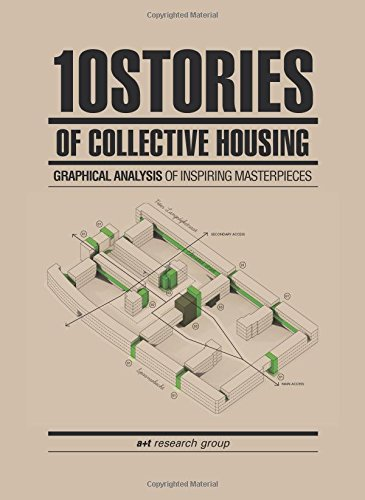 10 Stories of Collective Housing. Graphical analysis of inspiring masterpieces por Aurora Fernández Per