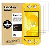 VGUARD Pack de 3 Verre Trempé pour Nintendo Switch Lite, Film Protection en Verre trempé écran Protecteur vitre - Anti Rayures - Ultra Résistant Dureté 9H pour Nintendo Switch Lite