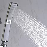 Alton Dual Function High Pressure Handheld Shower Head with Powerful Shower Spray (Waterfall & Rain Spray)