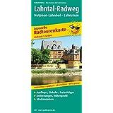 Lahntal-Radweg, Netphen-Lahnhof - Lahnstein: Leporello Radtourenkarte mit Ausflugszielen, Einkehr- & Freizeittipps, wetterfest, reissfest, abwischbar, GPS-genau. 1:50000