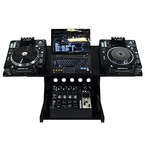 Metall Stahl Workstation (Novopro WS1 CDJ Workstation)