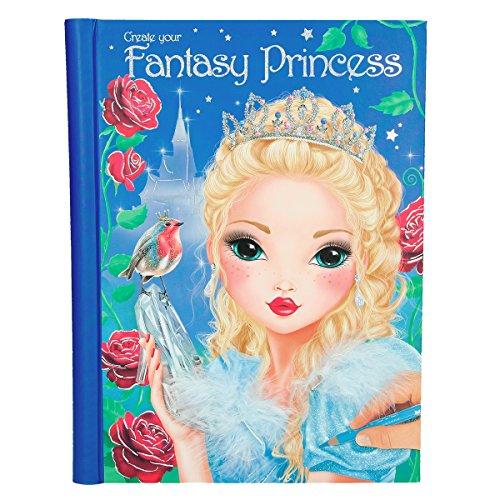 Top Model 6461 Create your Fantasy Princess Malbuch mit Stickern