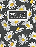2020-2021 Two Year Planner: 2020-2021 see it bigger planner | Jan 2020 - Dec 2021 | Flowers Cover 24 Months Agenda Planner with Holiday | Personal ... for Mom (2 year monthly planner 2020-2021)