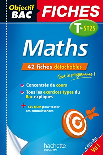 Objectif Bac Fiches Maths Term ST2S (Objectif Bac Pro - Fiches)