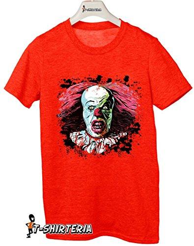 t-shirt Tribute Tribute film Horror, Clown, Pagliaccio, tutte le taglie uomo donna maglietta by tshirteria