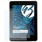Bruni Amazn Kindl Paperwhite (WiFi & 3G) Pellicola Proteggi - 2 x cristallino Protezione Pellicola dello Schermo Pellicola Protettiva per Amazn Kindl Paperwhite (WiFi & 3G)
