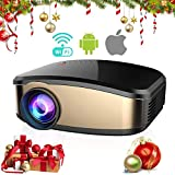 Best Android Projectors - Wireless Wifi Video Projector Full HD 1080P, iBacakys Review