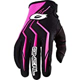 Guantes Mx Mujer Oneal 2018 Element Negro-Rosado...