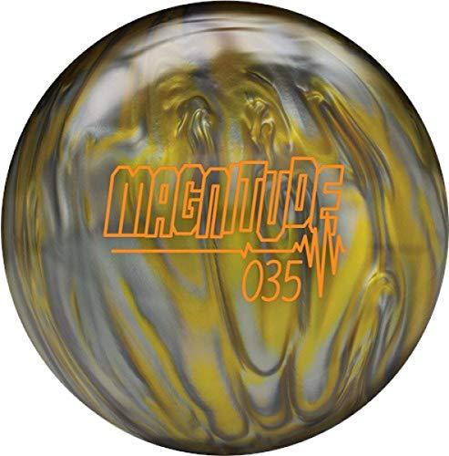 Brunswick Magnitude 035 Reaktiv Pearl High Performance Bowling Ball Bowlingkugel mit Asymetrischem Kern Größe 12 LBS (Hammer Bowling Taschen 3-ball-roller)