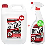 CritterKill 5+1L FREE Professional Bed Bug Killer Spray | Guaranteed Results | Used by Professionals
