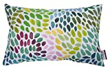 TOM TAILOR T-Colorful Spots Kissenhülle, Baumwolle, Grün/Multi, 30 x 50 x 0.05 cm