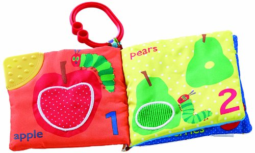 Kids Preferred Kids Preferred Let's Count Clip On Book, The Very Hungry Caterpillar
