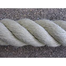 HTF corde pour rampe d'escaliers beige 40 mm-rambarde corde couleur naturel