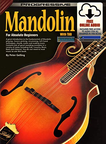 Progressive Mandolin: For Beginners: For Beginners (Progressive ) Progressive Mandoline