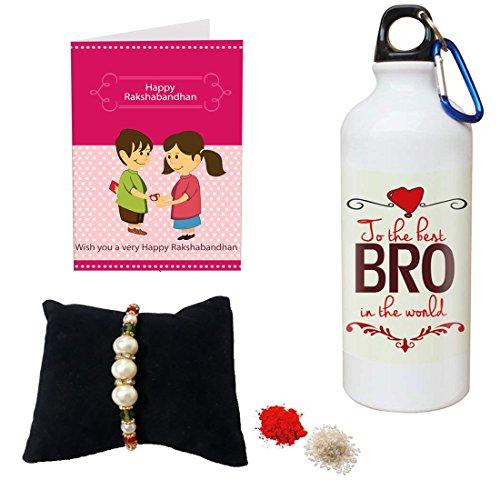 Sky Trends Gift for Brother/rakshabandhan Gifts,Gift for bro Printed Sipper Best Gift for Bro STD#14