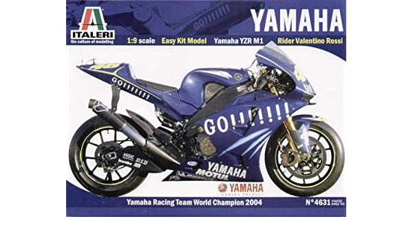 Italeri Yamaha Yzr M1 Motogp 04 Amazon Co Uk Toys Games